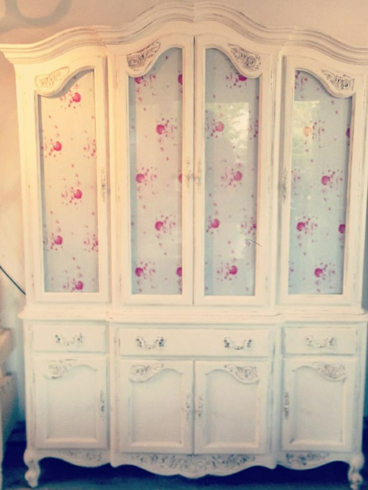Cabbages & Roses linen press.