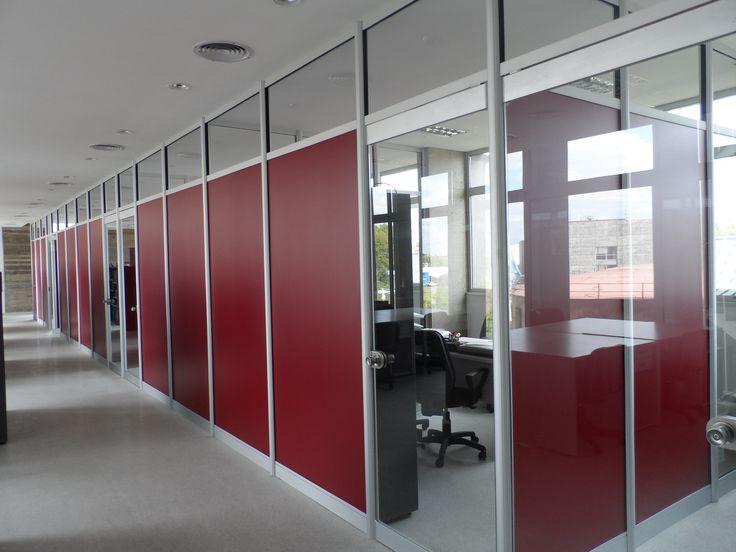 Oficinas administrativas de la universidad de san mart n - Tabiques de cristal ...