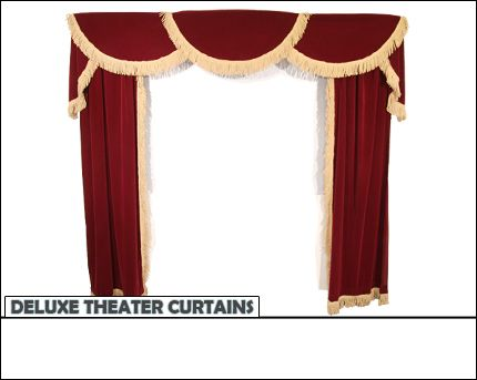 17 Best ideas about Home Theater Curtains on Pinterest   Theater ...