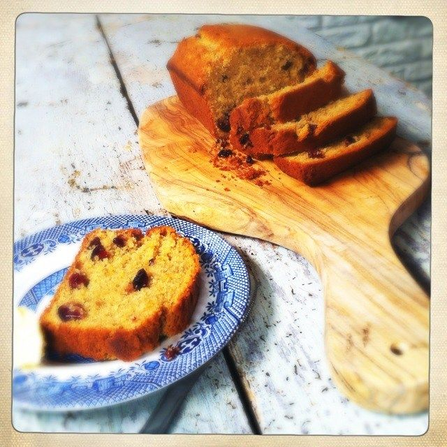 Orange & cranberry loaf - Recipes from a Normal Mum