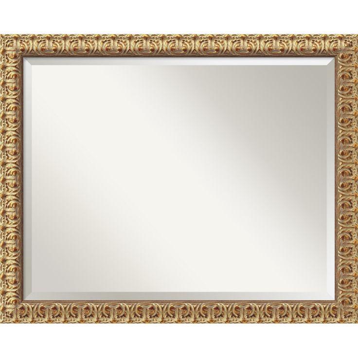 Amanti Art Florentine Gold Wall Mirror