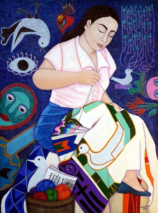 Tribute to Violeta Parra by Madalena Lobao-Tello