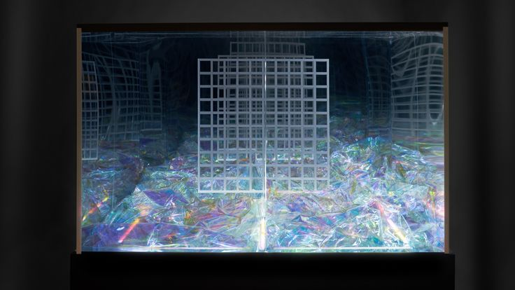 Installation Chromatic Paris  collaboration avec Philippe Savard @robocut