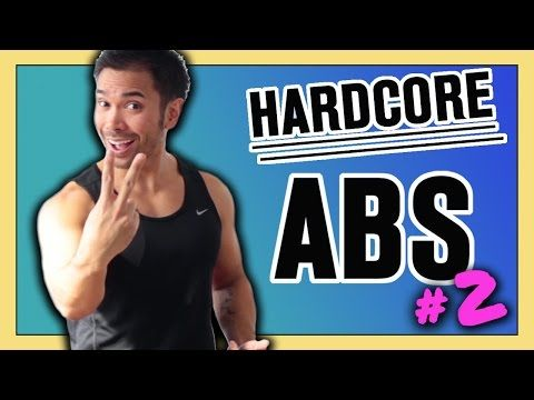 Hardcore Abs! 10 Min Abs Workout -- At Home Abdominal and Oblique Exercises | Mike Donavanik - YouTube