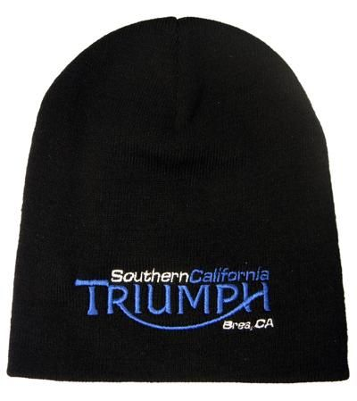 So Cal Triumph Beanie from Southern California Triumph/Ducati Accessories