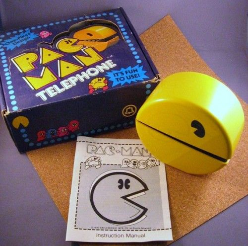 Original Pacman Telephone from 1980 $120 #vintage #videogames