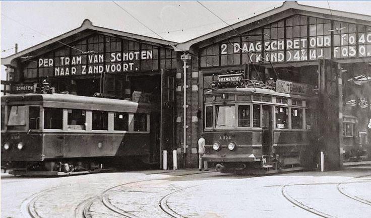 Haarlem 1940 Soendaplein tramremise
