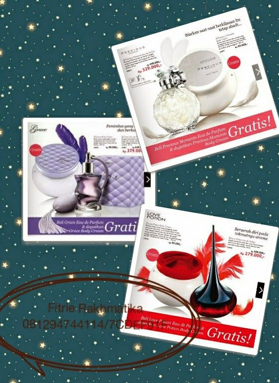 Bunda Insyira's Story: Eau de Parfume free Body Cream