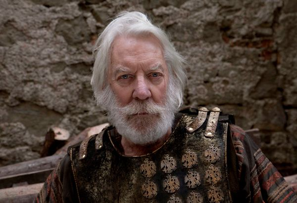 Whenever I think of King Balthazaar, I think of Donald Sutherland.