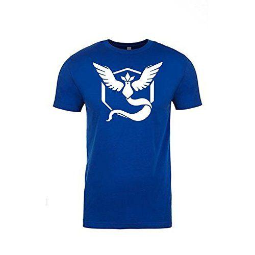 Pokemon Go Shirt Team Mystic Emblem Pokémon GO Shirt (Small) | #Apparel #external #Men #Shirts #Sports