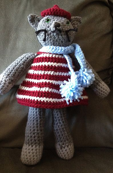 READER MAKES: COCO THE CAT   crochet today