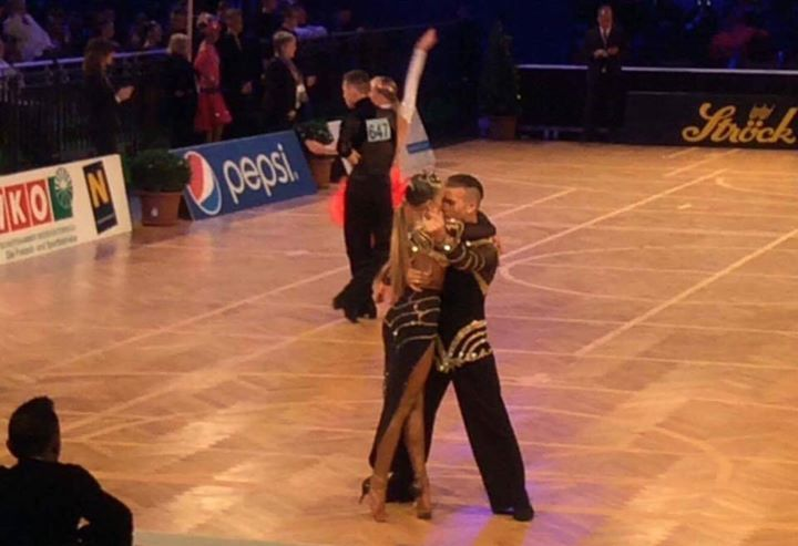 Complimenti a Ej Quaccio Dita Cena e Maddalena Giai Baudissard all'Austrian Open Championship!  #RossoLatino #testimonial #danceshoes #AustrianOpen