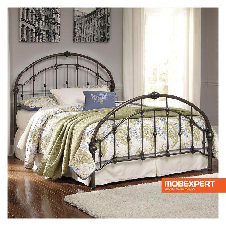 Patul ideal pentru cei visători.  #pat #dormitor #mobexpert