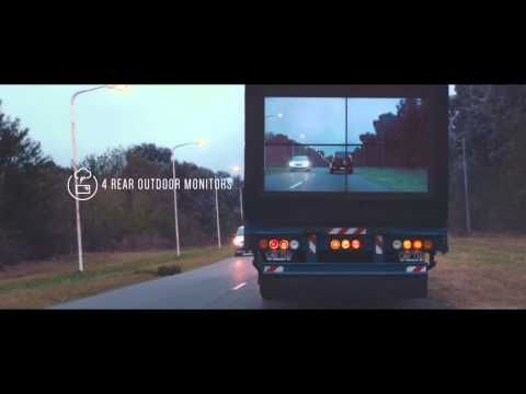 Samsung Safety Truck makes driving safe