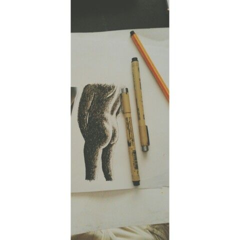 ink✒ on paper  #ARTbyTebogoMbewu #SouthAfrica #SouthAfricanArt #ShareTheART  #Nude #MaleNude #sketchbook #sketch #ink