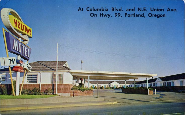 Holiday Motel, Portland, Oregon