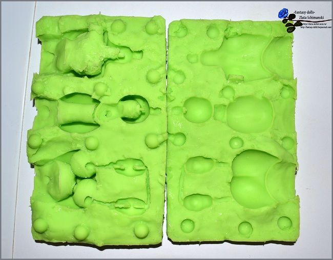 Manufacture of molds for casting silicone dolls BJD polyurethane (Resin). - Fair Masters - handmade, handmade