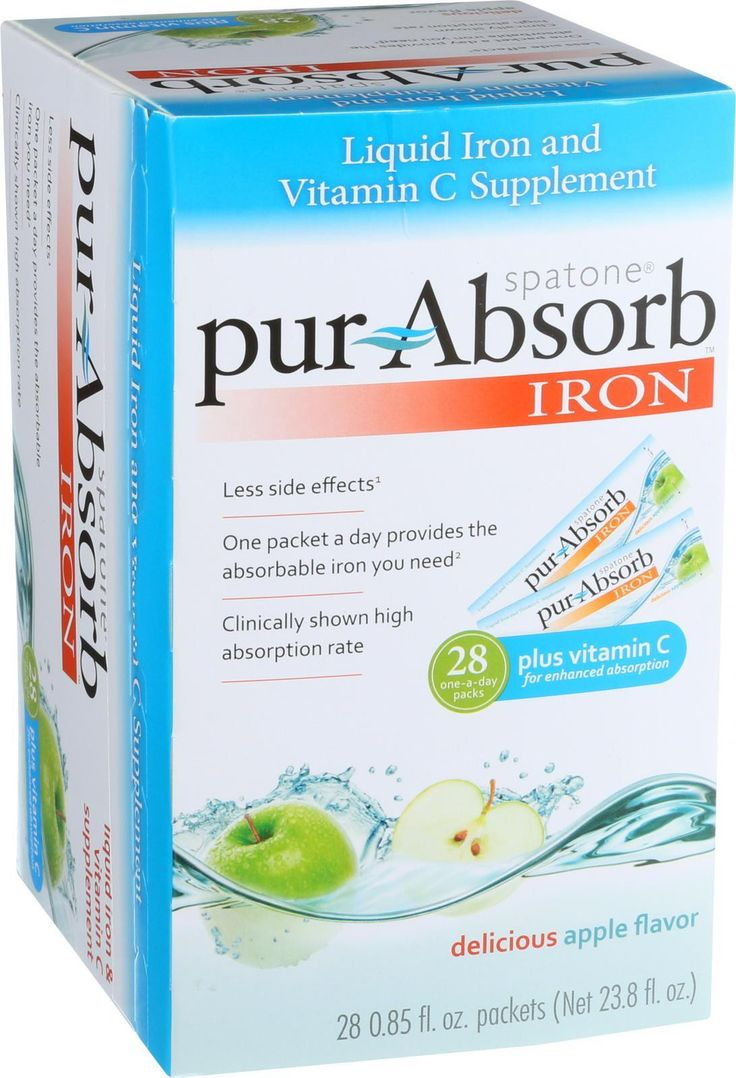 100% Natural Liquid Iron Supplement Iron-Rich Water Straight From The Source One packet a day will fulfill the daily absorbed iron needs for women with low iron levels* Clinically proven high absorpti