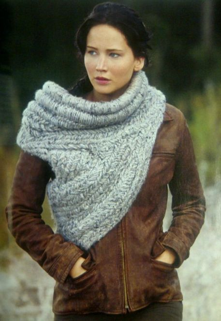 9 best Hunger games cowl images on Pinterest | Cowl scarf, Cowls ...