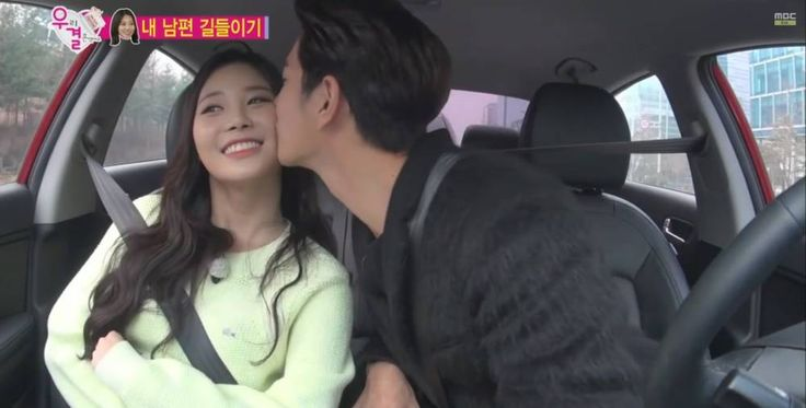 Hong Jong Hyun kisses 'We Got Married' wife Yura for the first time | http://www.allkpop.com/article/2015/01/hong-jong-hyun-kisses-we-got-married-wife-yura-for-the-first-time