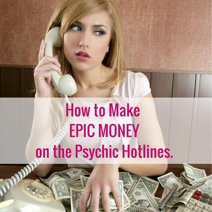 Make EPIC MONEY on the Psychic Hotlines – Wealthy Goddess Workshops