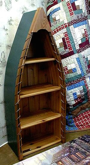 I was a crazy Dawson's Creek fan, and I desperately wanted a canoe shelf like Dawson had in his room