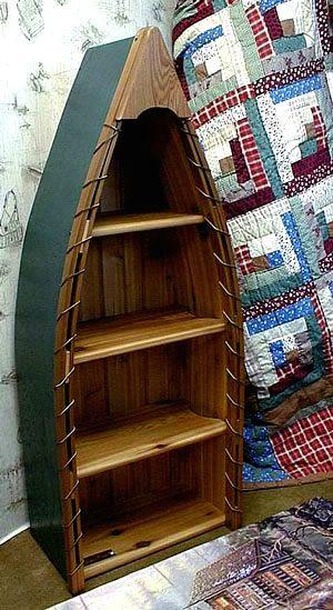 I was a crazy Dawson's Creek fan, and I desperately wanted a canoe shelf like Dawson had in his room