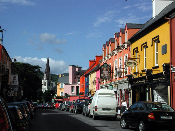 Kenmare, Ireland. The sweetest lil' town we vacationed in. And try ...