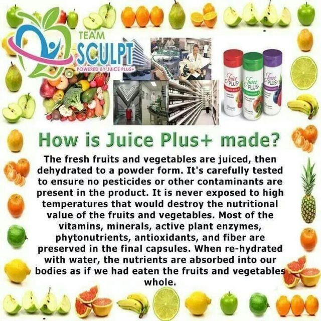 83 best images about Juice Plus on Pinterest | Fruits and ...