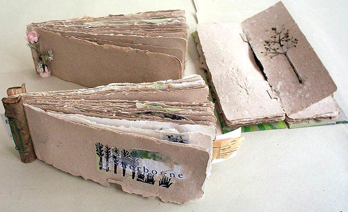 Louise Baker handmade books