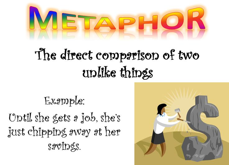 the significance of metaphors for our Chapter 4 – metaphor one of the issues that seems important to linguists who have studied metaphor is that of meaning we speak in metaphor because our.