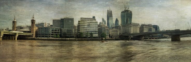 https://flic.kr/p/fb6ozq | London Skyline | sarahjarrettart.blogspot.co.uk/2013/07/london-calling.html