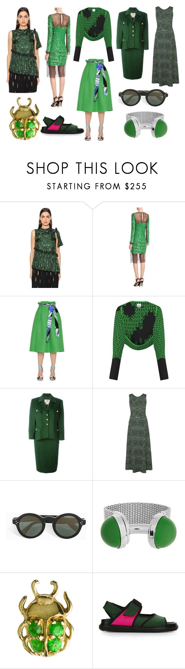"""Fashion Store"" by donna-wang1 ❤ liked on Polyvore featuring Marco de Vincenzo, Emilio Pucci, Opening Ceremony, Hermès, Lilly Sarti, Zanzan, Balenciaga, Loquet and Marni"