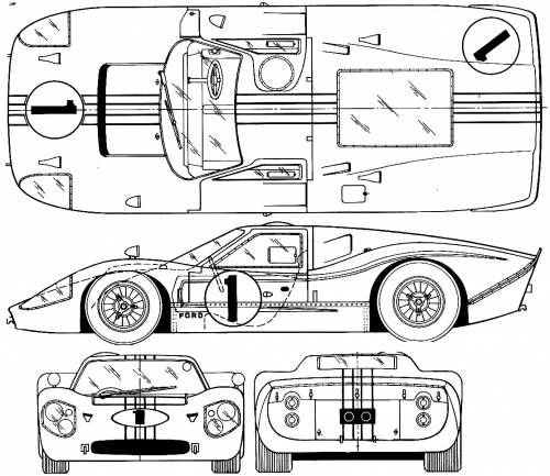 Pin By Bob Stringham On Diy Blueprint T Shirt Pinterest Cars Ford Gt And Ford