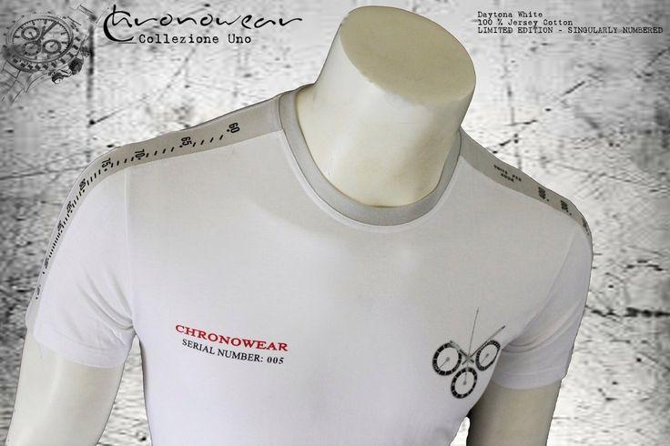 T SHIRT CHRONOWEAR ROLEX DAYTONA 16520 / 116520 - White  - infos: info@chronowear.it