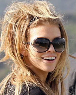 AnnaLynne McCord in Roberto Cavalli sunglasses