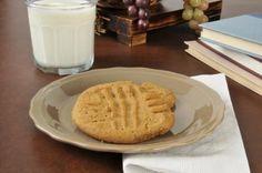 galletas de mantequilla de mani con tres ingredientes