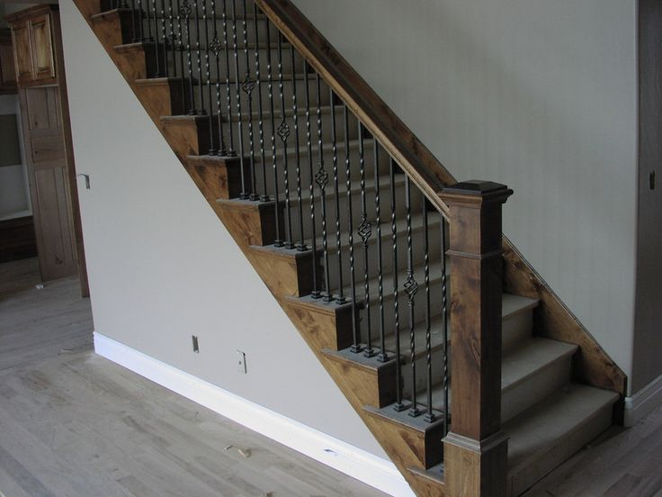 Stair Banisters | Utah Stair Railings Built By Apex Carpentry.