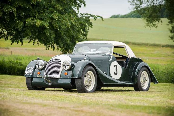 Morgan Plus 4 Race Car