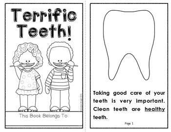 Terrific Teeth! {A Student Book About Healthy Teeth