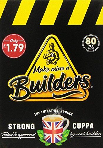 Make Mine a Builders Tea Bags 80 >>> Details can be found by clicking on the image. Note: It's an affiliate link to Amazon.