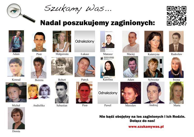 Oficjalnie poszukiwani przez szukamywas.pl