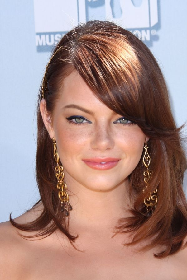 hair styles red 359 best hair degrader images on hairstyle 7802 | 7802db34071a5161df3fc62faf29a5a1 emma stone haircut emma stone bangs