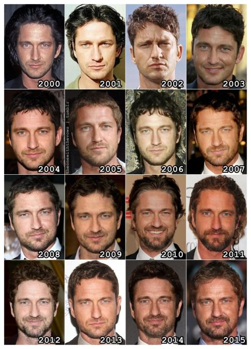 The Evolution of: Gerard Butler