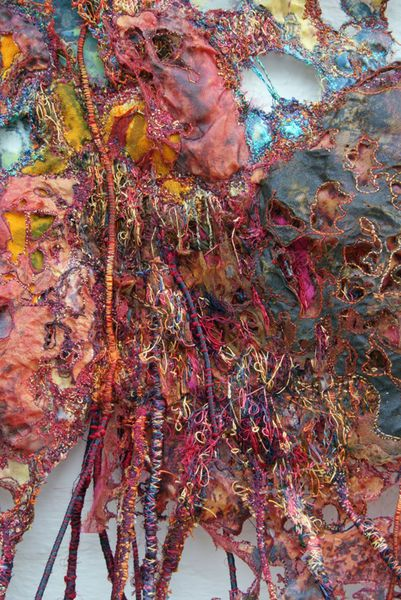 Sue Hotchkis Fibre Artist Contemporary Abstract Art