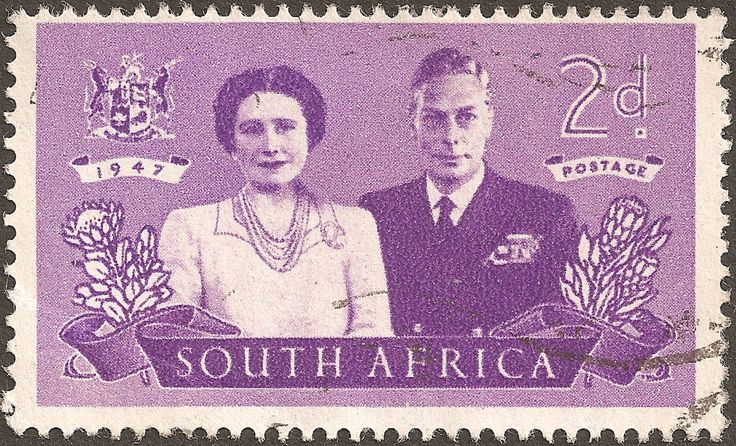 South Africa Stamp - Royal couple
