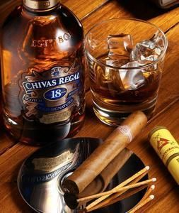 Good whiskey, a good cigar and a great conversation