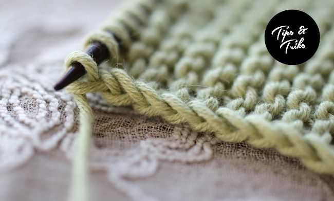 How to make a nice edge stitch (garter or stockinette)