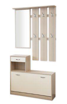 albatros siena ensemble de meubles de vestiaire d 39 entr e blanc cuisine maison. Black Bedroom Furniture Sets. Home Design Ideas