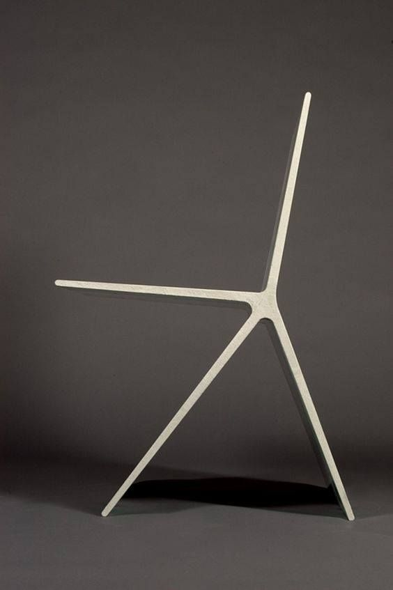this is the sorta thing that makes me wish i were were an industrial designer concrete chair by omer arbel